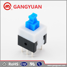 6Pin Micro Momentary Latching Non Lock Push Button Switch