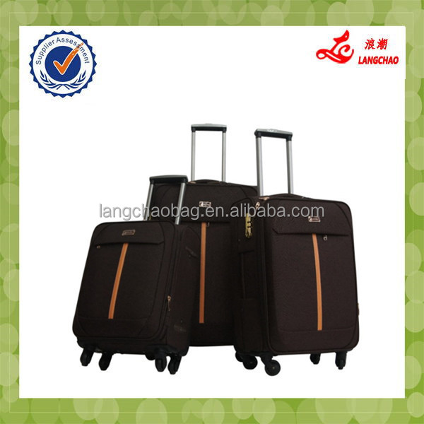 2015High-end Commercial Business PU Leather Globe Luggage
