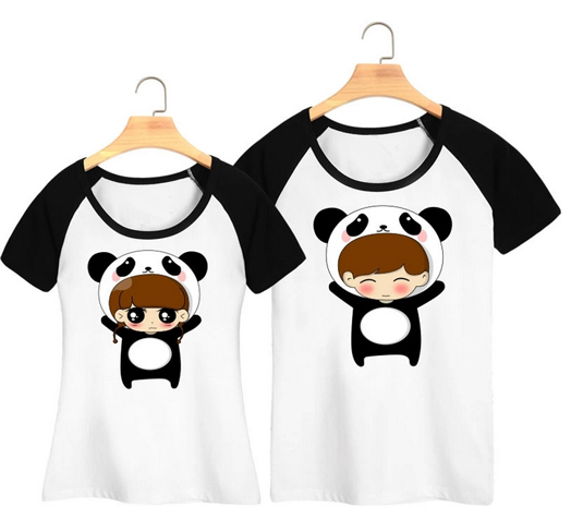 Cute Couple Shirt Design Chinese Clothing Manufacturers