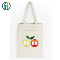 Top grade beautiful design tote canvas shopping cloth carry natural cotton bag
