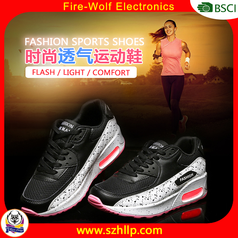 New design comfortable led lighting sport shoes outdoor exercise light up sport shoes