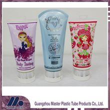 Professional cream tube packaging cosmetic plasitc tube with flip top cap