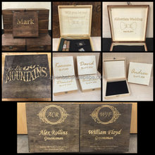Custom made different styles small wooden box wholesale