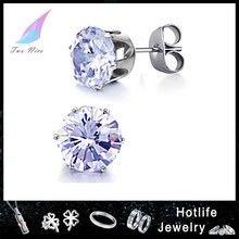 2014 factory wholesale fashion jewelry wedding brooch earring set with crystal