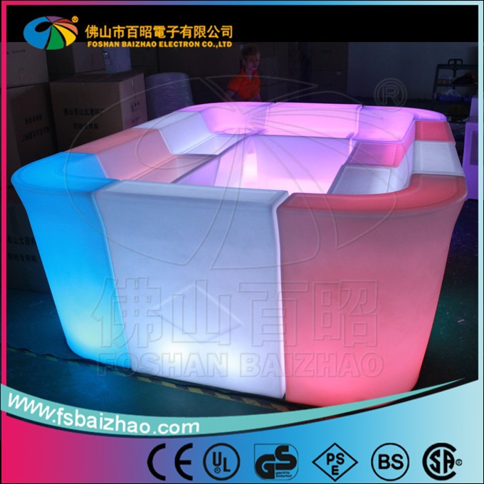 commercial bar tops/unique bar tables/glowing table