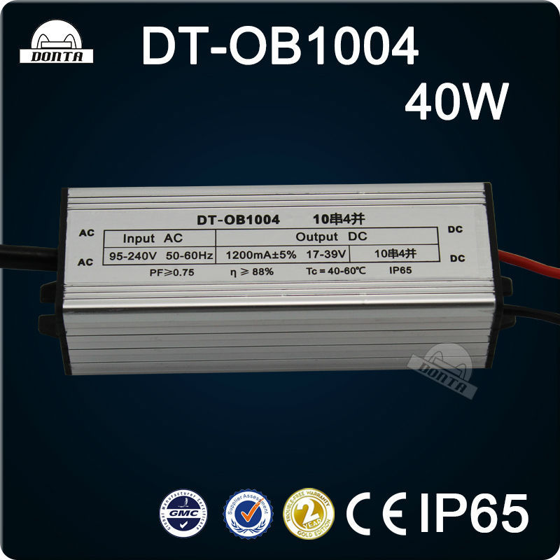 18W 300mA 24v led driver constant current with CE RoHS,20W 30W 40W 50W