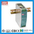 Original MEAN WELL 120W Single Output Industrial DIN RAIL NDR-120-48