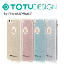 TOTU Design Bling Soft Ultrathin TPU Protective Back Case Cover for iPhone 6