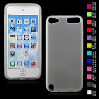 cellphone tpu case (gross outside,mette in side) for ipod touch 5g