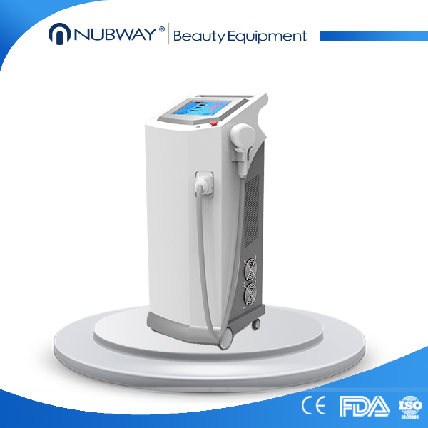 New Arrival vertical Germany 10 BARS 808 nm diod laser for hair removal