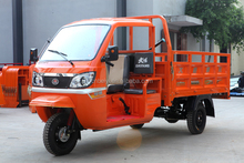 Semi-closed Tricycle 200cc Cargo tricycle water cooling engine cabin adult three wheelers with CCC