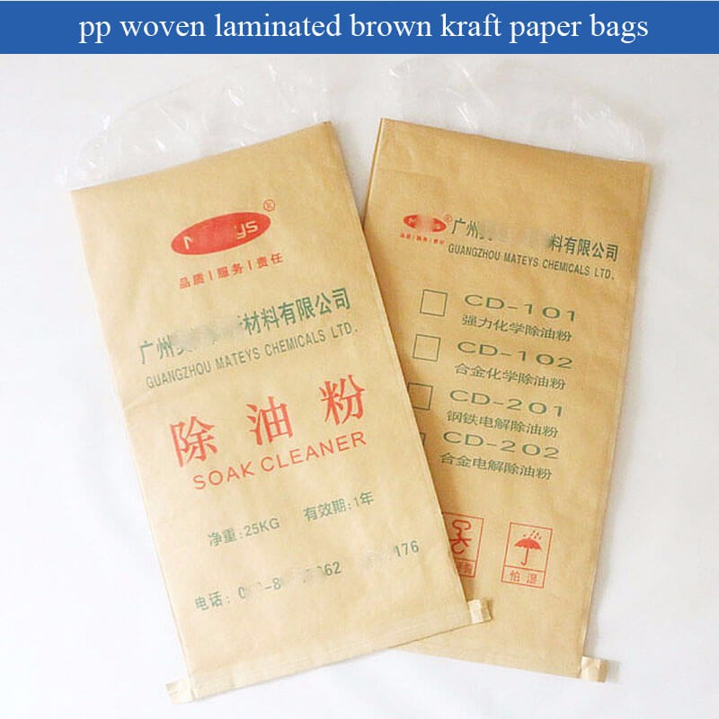 plastic lined kraft paper bag/chemical bag/sack