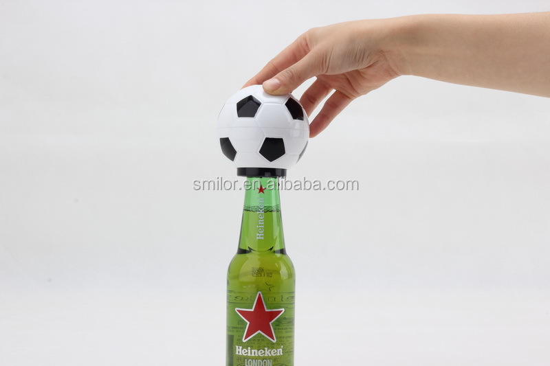 Soccer football shape Bottle opener with music