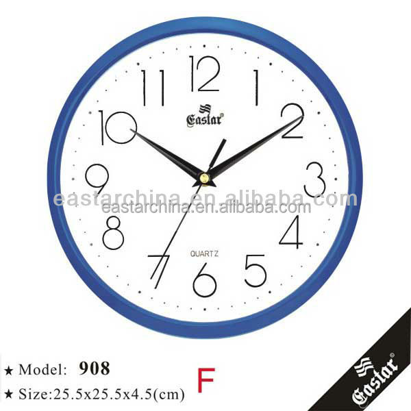 Wholesale dialing clock factory supply for kids mini promotional clocks
