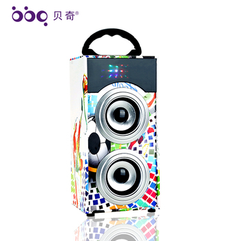 Active computer mobile phone portable audio player super bass bluetooth speaker