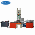 Aluminum foil box container making machine line press machine