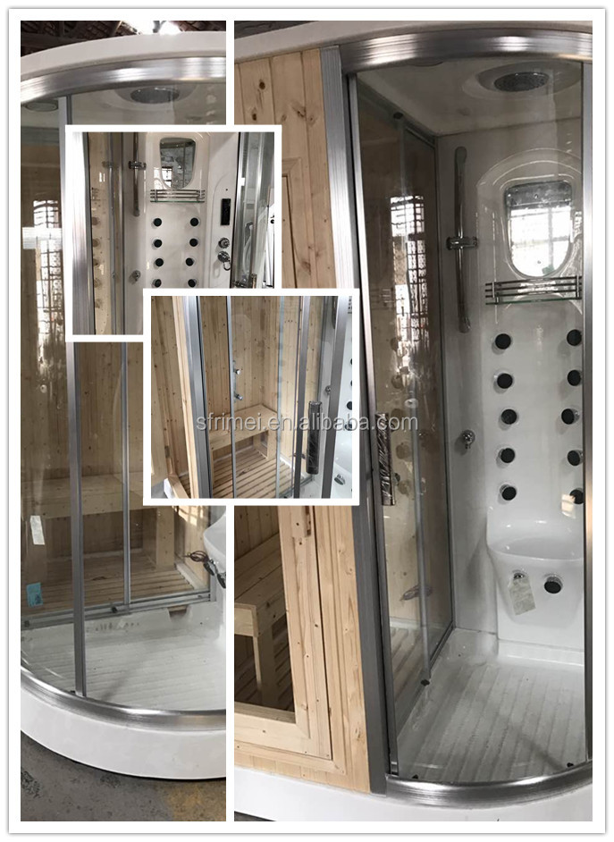 Sauna Bath Indoor Steam Shower Room Wooden Steam Sauna Room