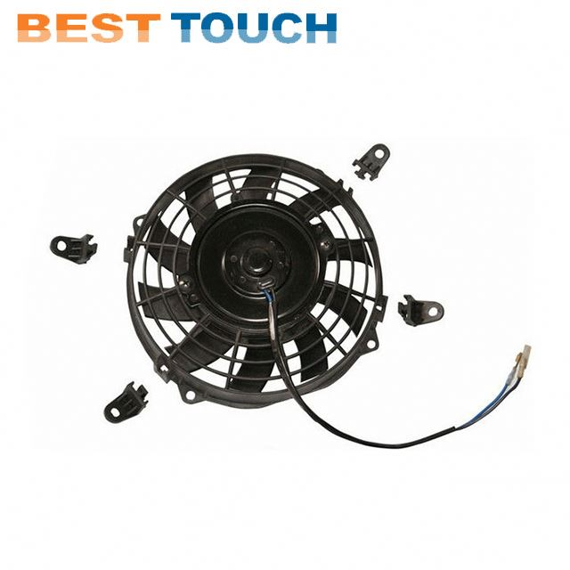 Customized 12V 24V 80w 120w 07'' 09'' <strong>10</strong>'' 12'' 14'' 16' inch bus parts auto a/<strong>c</strong> electric fan for RENAULT
