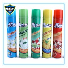 Hot-selling rose scented car air freshener spray with factory price