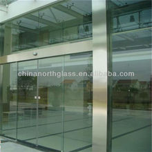 building glass for hotel /bank gate