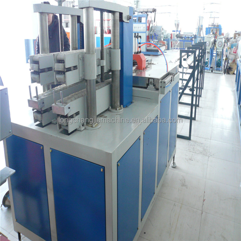 Plastic PVC wiring duct machine , Cable PVC wiring duct extrusion line
