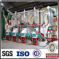 High efficiency maize flour mill