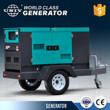 Trailer canopy standby diesel power generator soundproof genset