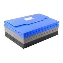 printing plastic folding box file a3 size latest
