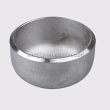 ASTM A403 standard seamless butt welding stainless steel tube end caps