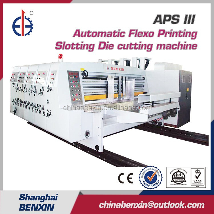 APS III Automatic Flexo printer slotter rotary die cutter for Carton making