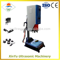 ABS Mobile charger making butt plastic sheet ultrasonic welding machine