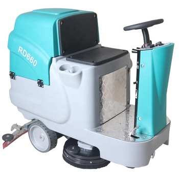 RD660 Electric Battery Epoxy Concrete Floor sweeper