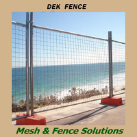 High security removable Iron Portable Swimming Pool Fence Mesh Screens