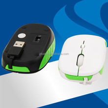 Folding Wireless Mouse 2.4ghz usb wireless optical mouse driver cpi