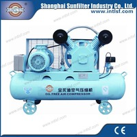 Medium pressure oil free piston mini air compressor