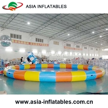 Widely Used Water Games Outdoor Type Intex Round Adult PVC Tarpaulin Inflatable Swimming Pool