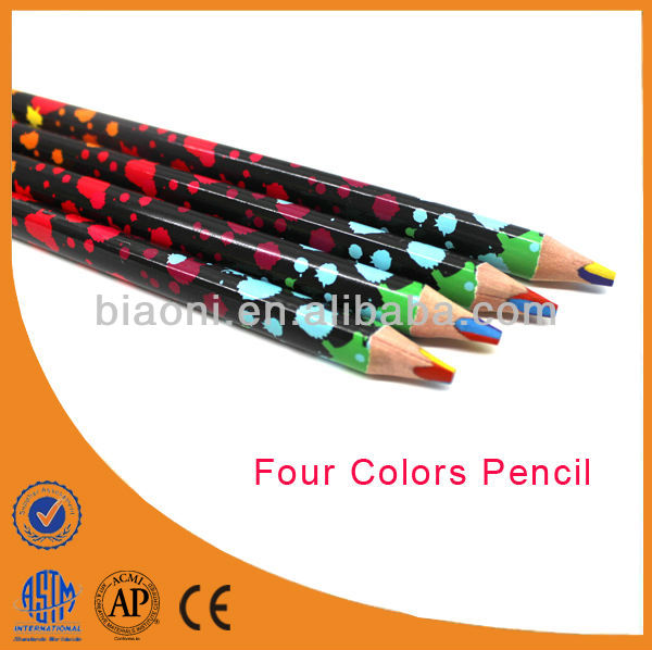 Wooden Jumbo Bright Multicolor Lead Colored Pencil For Student