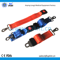 first aid consumables double adjustable straps for immobilizing patients