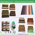 Hollow and solid WPC outdoor decking board from Anhui China