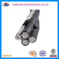 Aerial insulated cable with rated Voltage 0. 6 / 1KV