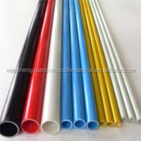 Fiberglass cylinder tube/hollow fiberglass rod pipe/ chemical carbon fiber tube