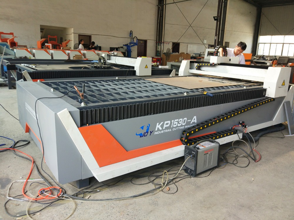 Thick metal plasma cutting machine import hyper tham power cnc cutting machine