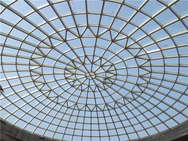 Steel Building Glass Dome