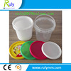 wholesale transparent small volume plastic bucket container for food