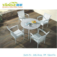 leisure outdoor synthetic poly rattan garden furniture