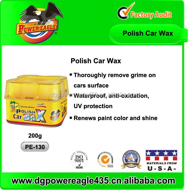Pure Brazilian Carnauba Super Polish Car Wax 200g
