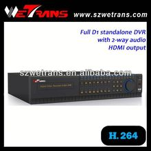 WETRANS TD-8116S 2U Industrial Real Time Network 16 Channel Software DVR Card H.264