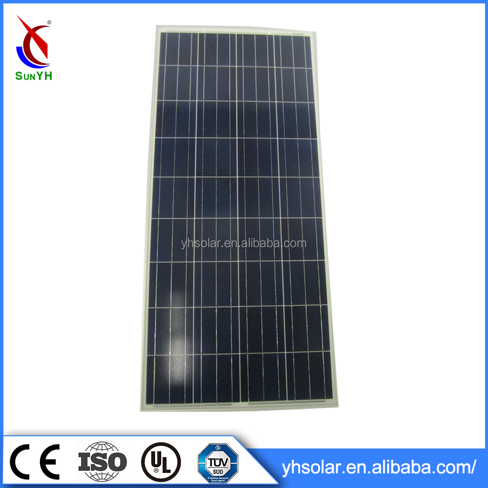 Cheap Pv Solar Panel Solar Panel Flexible Solar Panel , Poly Solar Cell Modules 120watt Low Price
