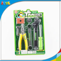 Hot sale good quality tool set toy for boy plastic mini tool set
