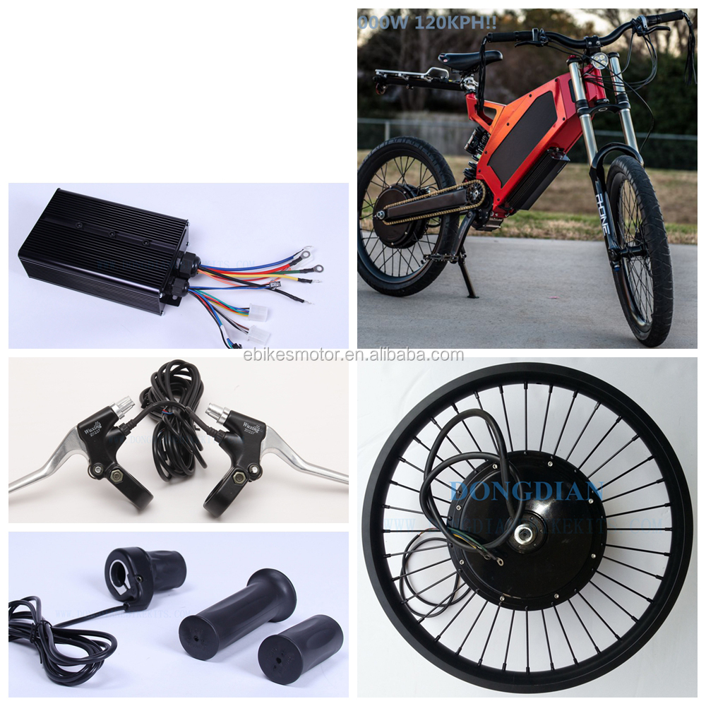 120 km h velocit 5000 watt motore del mozzo kit bici. Black Bedroom Furniture Sets. Home Design Ideas